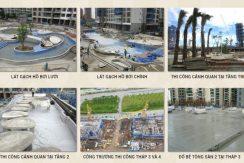 tiến độ căn hộ estella heights tháng 6 7