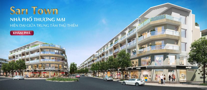 Nhà phố thương mại Sari Town – khu đô thị Sala – Thủ Thiêm