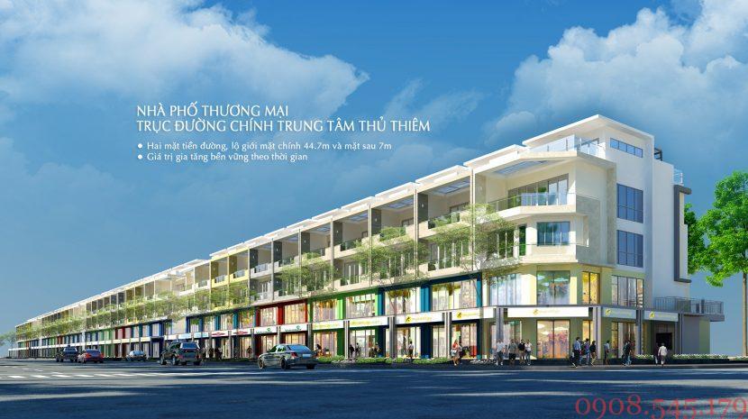 Nhà phố mặt tiền Nguyễn Cơ Thạch – khu đô thị Sala